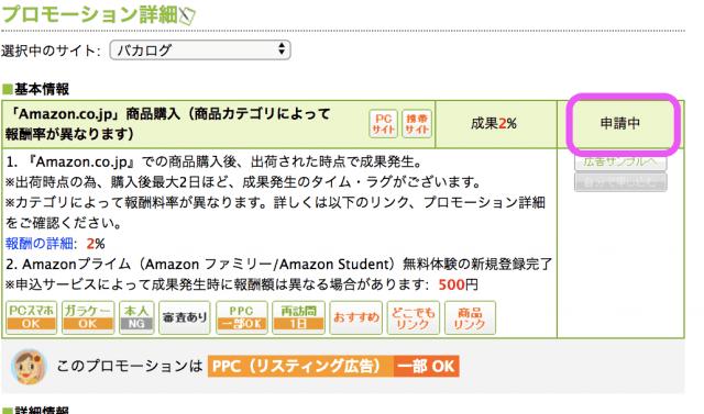 Amazonと提携中になります