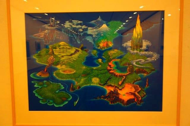 磯野宏夫が描く聖剣伝説のマップ