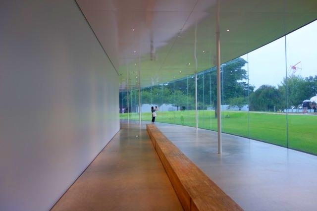 21世紀美術館の廊下