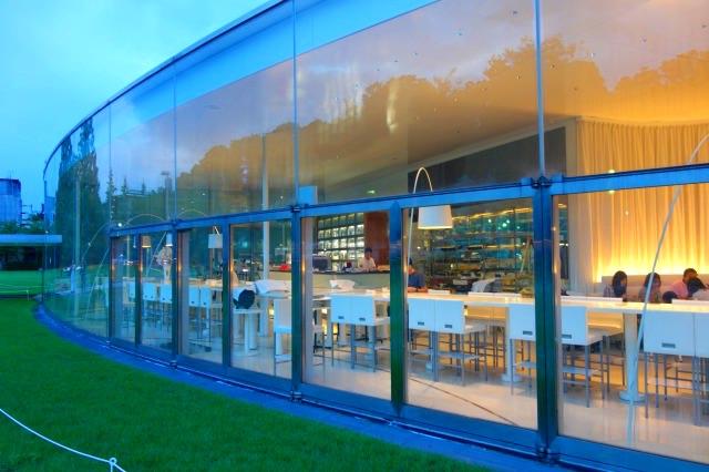 21世紀美術館のレストラン