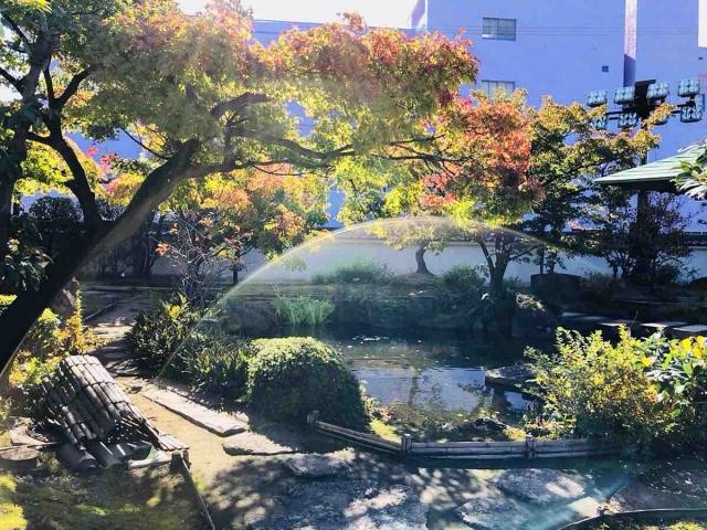 清洲城の庭園