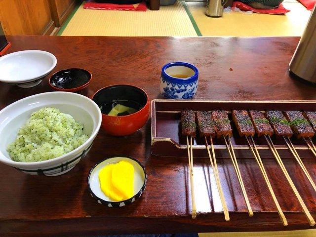松野屋「味噌田楽定食」