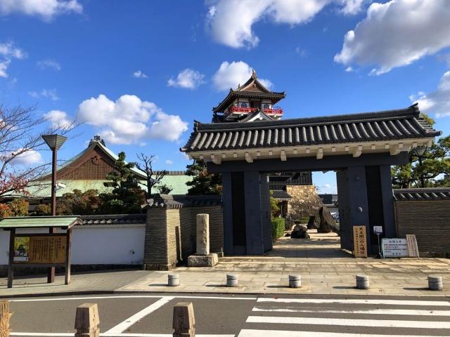 清洲城と正面門