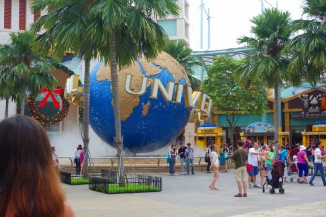 シンガポールで一人USJ