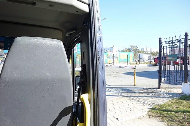 コルサコフからユジノサハリンスク行きのバス