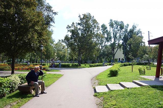 サハリンの公園